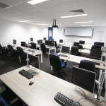 Blue computer room hire in Perth